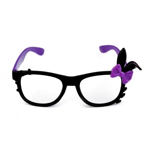 Karnevalové okuliare bez skiel